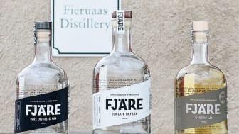 Tre internationella silver till Fieruaas Distillery!