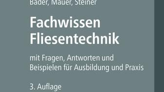 Fachwissen Fliesentechnik, 3. Auflage (2D/tif)