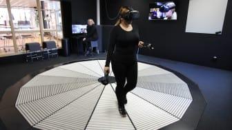 Internationellt besök i Videum VR