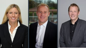 L-R: CWT's Courtney Mattson, Acting CFO; Patrick Andersen, President & Chief Commercial Officer; Niklas Andréen, President & Chief Operating Officer