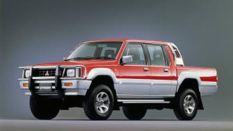 Mitsubishi L200 Historie