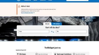 SL.se vinnare av Sveriges bästa resesajt