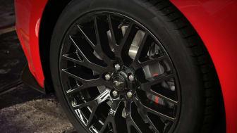 Nye Ford Mustang med sportslige felger