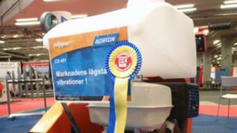 Golvsåg från Norton Clipper nominerad till Arbetsmiljöpriset 2011
