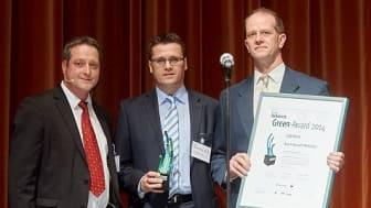 Miljöutmärkelse till Bosch Rexroth lackeringsverkstad