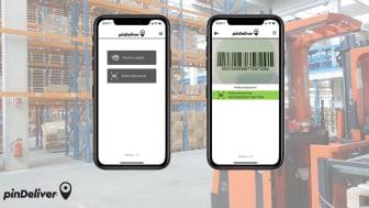 pinDeliver lanserar app för last mile terminaler