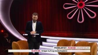 13.075 kr. har medarbejdere og firma doneret til Knæk Cancer 2020