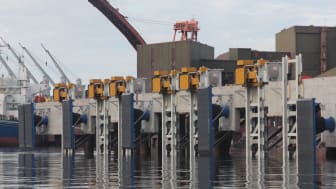 MoorMaster™ automated mooring units at a bulk handling application in Norway