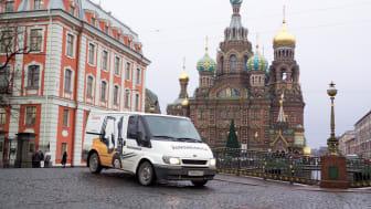 Jungheinrich i Ryssland: en tioårig framgångssaga