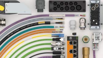 """SKINTOP®-kabelnät, EPIC®-kontaktdon och ÖLFLEX®-styrkablar från tyska tillverkaren LAPP har hög efterfrågan bland Conrads produktgrupper """"Kablar och kabeltillbehör""""."""
