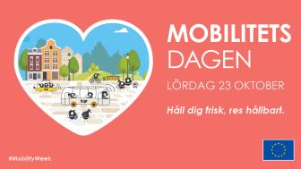 Varmt välkommen till Mobilitetsdagen på Kungstorget i Uddevalla lördag 23 oktober. Låt dig inspireras av vårt hållbara resande!