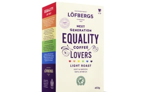 ​New coffee from Löfbergs for equal value