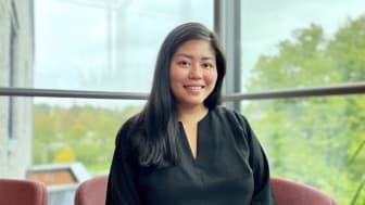 Jenny Huynh, läkarstudent vid Linköpings Universitet.