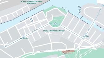 Markanvisningen är en del av en satsning som ska binda samman Hammarbyhöjden och Hammarby sjöstad.