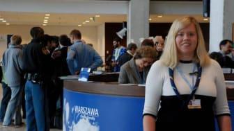 Scouterna medverkar i klimatkonferensen COP19 i Warsawa