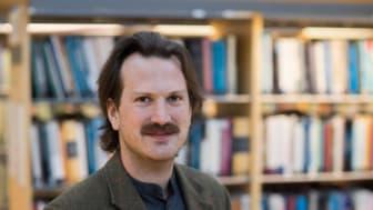 Mattias Näsman, doktorand vid Enheten för ekonomisk historia, Umeå universitet. Foto: Mikael Stiernstedt