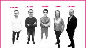 Teamet bakom idén UMustBe som är med på Venture Cup:s Top 20 ideas list 2016
