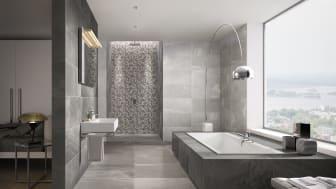 Ingen annen farge kan som gråfargen gi badet en rask ansiktsløftning og oppgradere det til en oase av letthet, ro og avslapping.