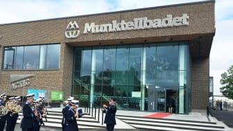 Munktellbadet i Eskilstuna ritad av Liljewall arkitekter