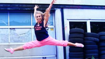 Vi gillar folk som sprider energi, som Lina Larsson på LL Dance Studio i Kävlinge.