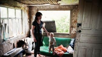 H&M-stiftelse finansierar ny barnby i Lugansk