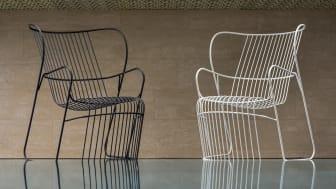 Kaskad fåtöljer, design Björn Dahlström. Visas under Milano Design Week 2019.
