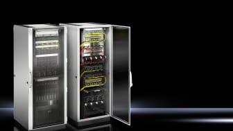 """Nya 19""""-rack från Rittal möter nya IT-krav på utbyggnad"""