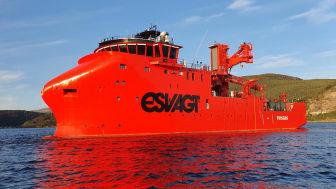 I tirsdags har Havyard Leirvik skibsværft overdraget det tredje SOV offshore serviceskib til ESVAGT på blot ni måneder.