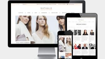 Nathalie Schuterman lanserar ny e-handel