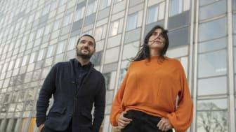 Vinnare i kategorin Årets Berättare: Karwan Faraj och Rosa Fernandez