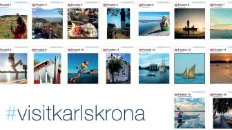 I år taggades 2964 bilder med #visitkarlskrona och utav dem har 16 finalister valts ut av en jury.