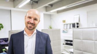 Martin Ene försäljningschef hos Konsultia, ser fram emot gott partnerskap