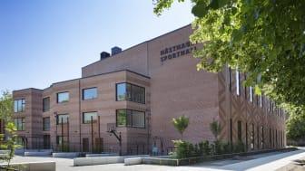 Hästhagens idrottscenter, finalist till Stadsbyggnadspriset 2019