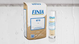 Finjas KF10 – Ny fugemasse for fliser og naturstein i 10 farger