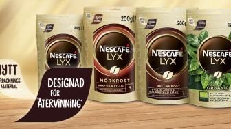 Nescafé LYX i ny refillförpackning