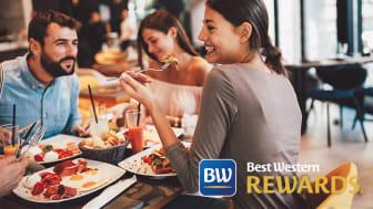 I 2021 er det blevet lettere for medlemmer i loyalitetsprogrammet Best Western Rewards at blive opgraderet til næste niveau.