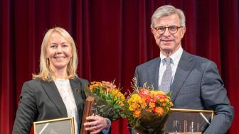 Hans Stråberg och Kathrine Löfberg tilldelas Guldklubban 2019