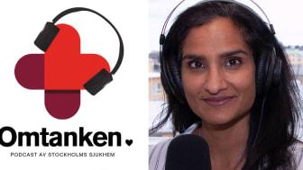 Madhuri Gogineni intervjuas om oro och etisk stress inom vården och omsorgen.