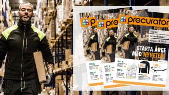 Nyheter i årets första kampanj i Procuratorbutikerna och webbutiken