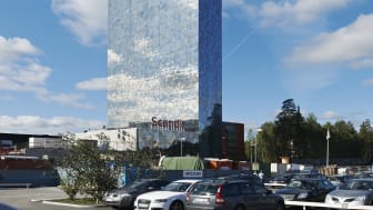 Svanen till Scandic Victoria Tower – både hotellet och restaurangen