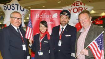Norwegian's first routes from Northern Ireland take-off