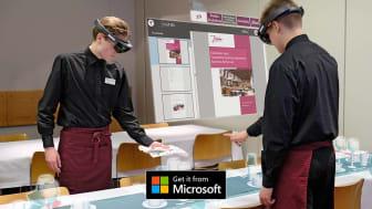 Softabilityn toteuttama virtuaalisen oppimisympäristön HoloLens-sovellus on nyt ladattavissa Microsoft Storesta