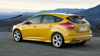 Ford Focus ST, 5-dørs lanseres sommeren 2012