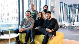 David, Peter, Johanna, Ibrahim och Anton från Maverick by Sigma Stockholm