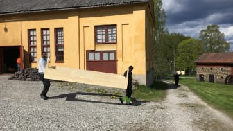 Långbans gruv- och kulturby . Foto: Värmlands museum