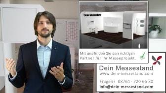 Video-Blog mit Tipps zu Messebau und Messeauftritt © Dein Service GmbH
