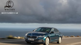 ŠKODA OCTAVIA har vundet Women's World Car of the Year i kategorien 'Best Family Car'.