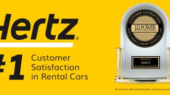 Hertz har de mest fornøyde kundene