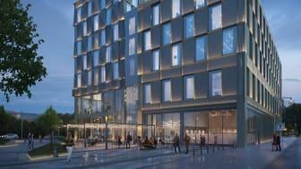 Norrköpings nya hotell tar form Bild: Reflex arkitekter