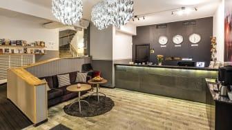 Receptionen på Clarion Collection Hotel Saga
